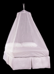 Double Bell Mosquito Net in White